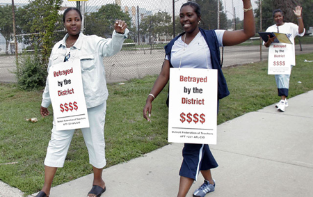 All 5,466 of Detroit Public School Teachers to Receive Layoff Notices – COLORLINES